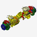 Underbody Component, Ergonomics Studies, Vehicle Integration, Packaging, B/W and other CAD / CAM / CAE solutions
